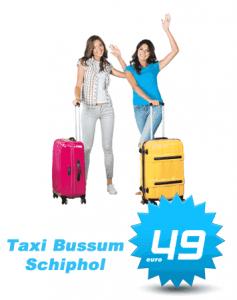 Taxi Bussum Schiphol