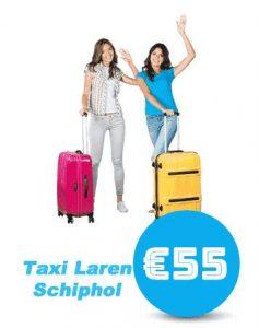 taxi-Laren-schiphol