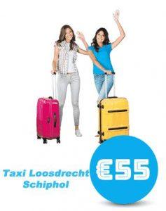 taxi-Loosdrecht-schiphol